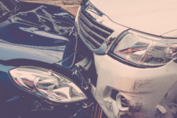 Evidence from car accident