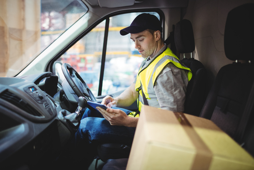 what to do after an accident with an amazon driver